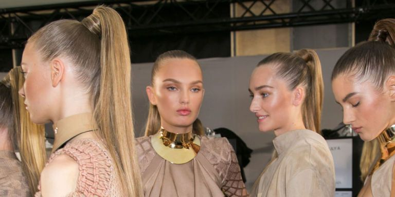Balmain ponytail extensions