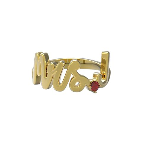 "<p>Alison Lou Gold and ruby ring, $950; <a href=""http://www.alisonlou.com/"">alisonlou.com</a></p>"