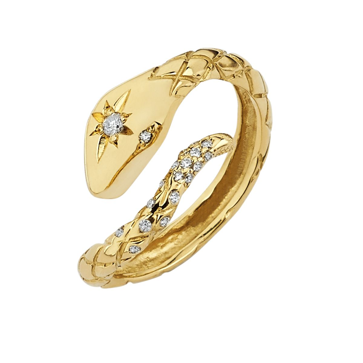 "<p>Logan Hollowell Gold and Diamond Ring, $1,320; <a href=""http://loganhollowell.com/"">loganhollowell.com</a></p>"