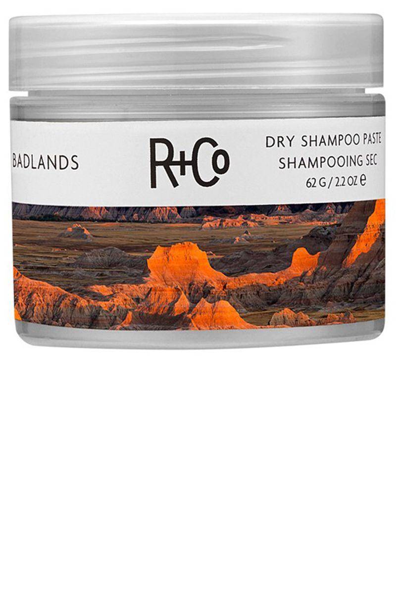 "<p><strong>R+Co</strong> Badlands Dry Shampoo Paste, $28, <a href=""http://www.randco.com/badlands-dry-shampoo-paste.html"" target=""_blank"">randco.com</a>.</p>"