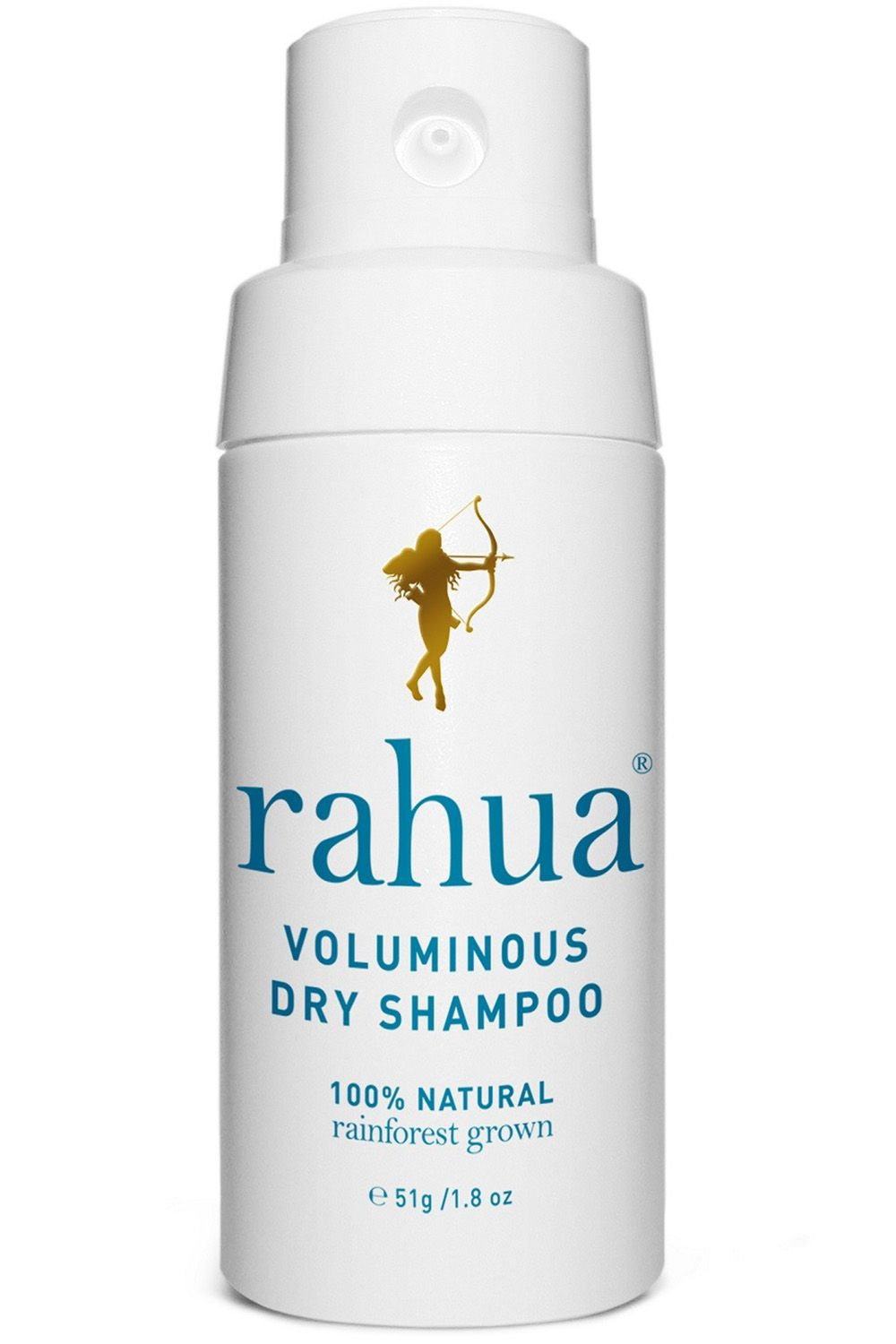 """<p>Vegan, gluten-free and organic, this is as hippie-dippie as a hair product can get. Not only that, it works. </p><p><strong>Rahua</strong> Voluminous Dry Shampoo, $32, <a href=""""https://rahua.com/us/rahua-voluminous-dry-shampoo.html/"""" target=""""_blank"""">rahua.com</a>.</p>"""