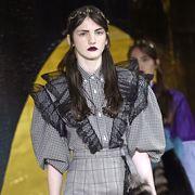 People, Social group, Plaid, Style, Pattern, Tartan, Black hair, Fashion, Youth, Street fashion,