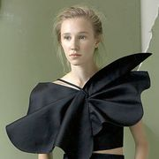 Shoulder, Joint, Dress, Fashion, Neck, Beauty, Day dress, Satin, Model, Fashion model,