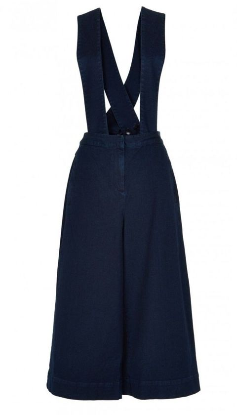 "<p>Tibi Denim Overalls With Removable Straps, $365; <a href=""http://www.tibi.com/shop/dresses/denim-overalls-with-removable-straps"">tibi.com</a></p>"