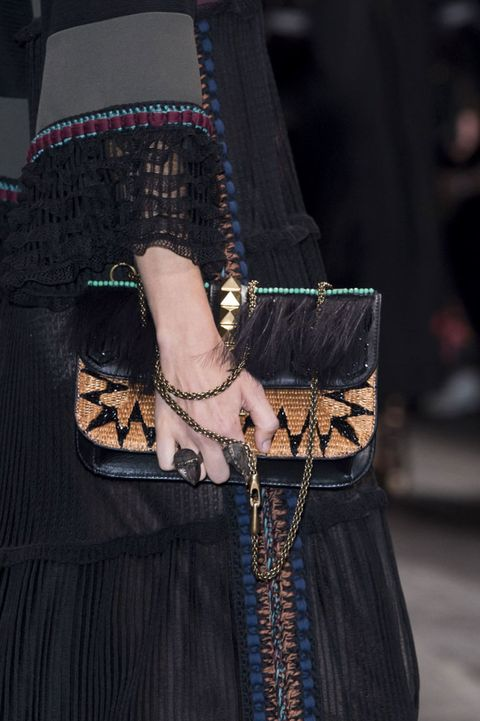 Textile, Style, Fashion accessory, Fashion, Street fashion, Embellishment, Fashion design, Body jewelry, Leather, Shoulder bag,