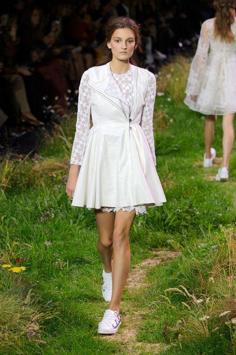 Clothing, Footwear, Leg, Dress, Style, Summer, One-piece garment, Pattern, Day dress, Fashion,