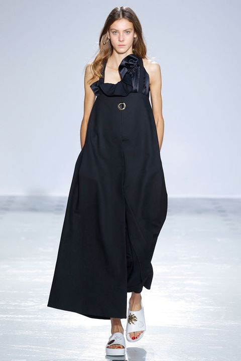 Clothing, Dress, Sleeve, Shoulder, Joint, One-piece garment, Standing, Formal wear, Style, Fashion model,