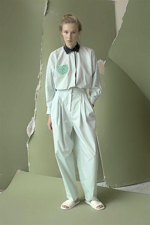 Fashion model, Model, Fashion design, Suit trousers, Silk, Costume design, Photo shoot,