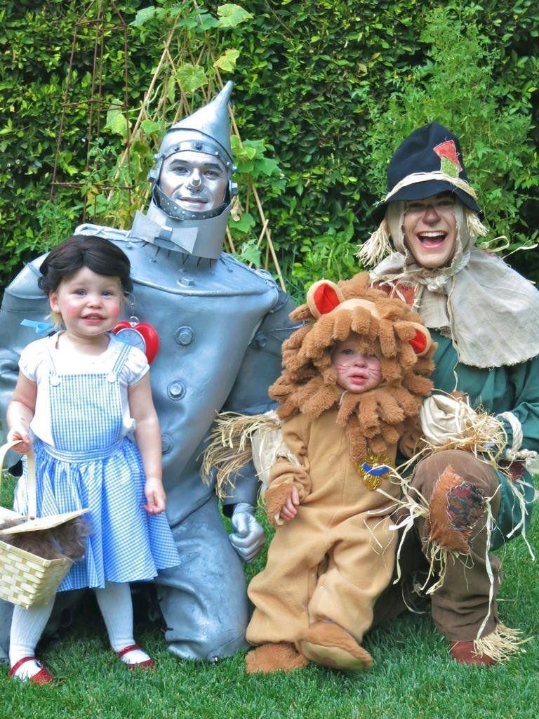 celebrity kid costumes - celebrity children dressed up for halloween