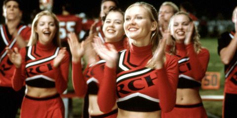 Kirsten Dunst Performs a Bring It On Cheer 15 Years Later
