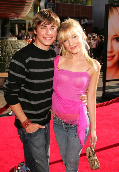 <p>Zac is already charming the ladies and establishing his real-life Ken doll status. Here, very visibly with his <em>Summerland</em> co-star Shelley Buckner.</p>