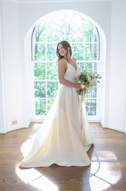 I Had My Favorite Designer Custom Make My Wedding Dress