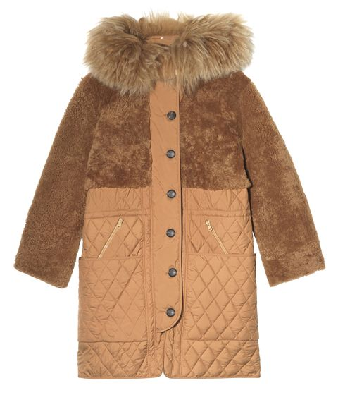 "<p>Chloé Oversized Shearling and Quilted Shell Parka, <span class=""currency style-scope nap-product-price"" style=""line-height: 1.6em;"">$</span><span class=""full-price style-scope nap-product-price"" style=""line-height: 1.6em;"">5,965; <a href=""http://www.net-a-porter.com/us/en/product/621613"">net-a-porter.com</a></span></p>"