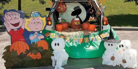 Toy, Trunk, Pumpkin, Decoration, Automotive tail & brake light, Calabaza, Cucumber, gourd, and melon family, Gourd,