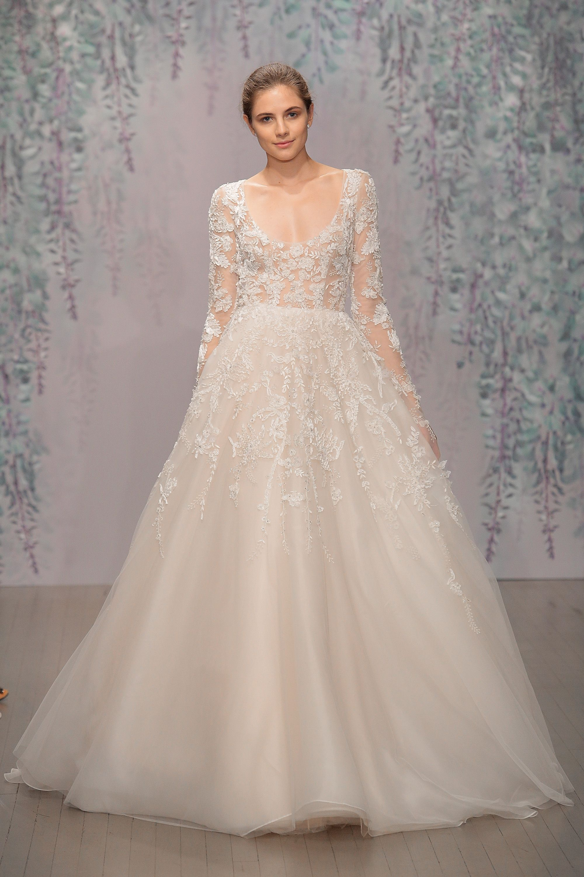 The best long sleeve wedding dresses at bridal fashion week ombrellifo Choice Image
