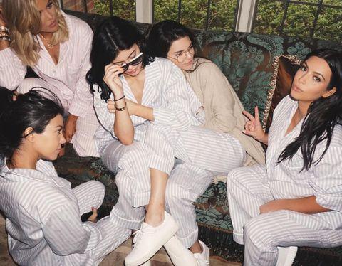 Kim Kardashian's Baby Shower Was One Big Luxurious Snuggle Sesh