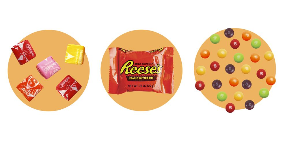 What 100 Calories of Your Favorite Halloween Candy Looks Like