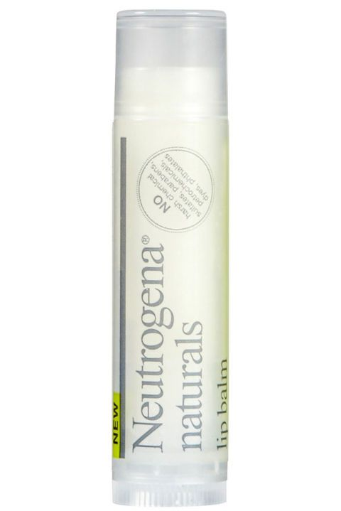 """<p>Made with 100% natural ingredients such as jojoba seeds and olive oil, and housed in100% recycled packaging, this balm is an eco superstar. Vitamin E soothes lips while essential moisture protects for future dryness. </p><p><strong>Neutrogena Naturals Lip Balm, $2.99; <a href=""""http://www.neutrogena.com/product/neutrogena-+naturals+lip+balm.do?utm_source=ntg_naturals&utm_medium=referral&utm_campaign=ntg_naturals"""">neutrogena.com</a>.</strong></p>"""