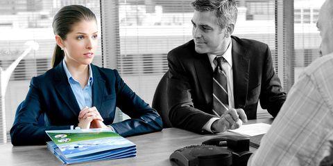 Table, Sitting, Dress shirt, Formal wear, Tie, Suit, Management, Job, White-collar worker, Employment,