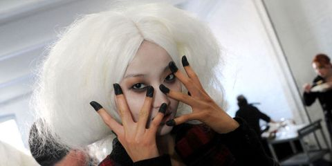 Face, Head, Eyebrow, Nose, Finger, Hand, Mouth, Photography, Smile, Costume,