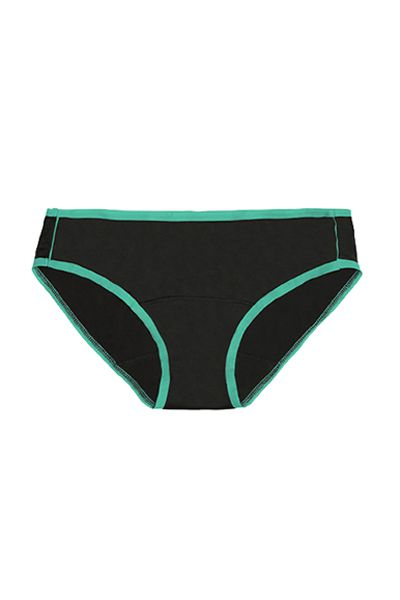 Swimsuit bottom, Clothing, Briefs, Bikini, Swimwear, Swim brief, Undergarment, Green, Swim brief, Underpants,