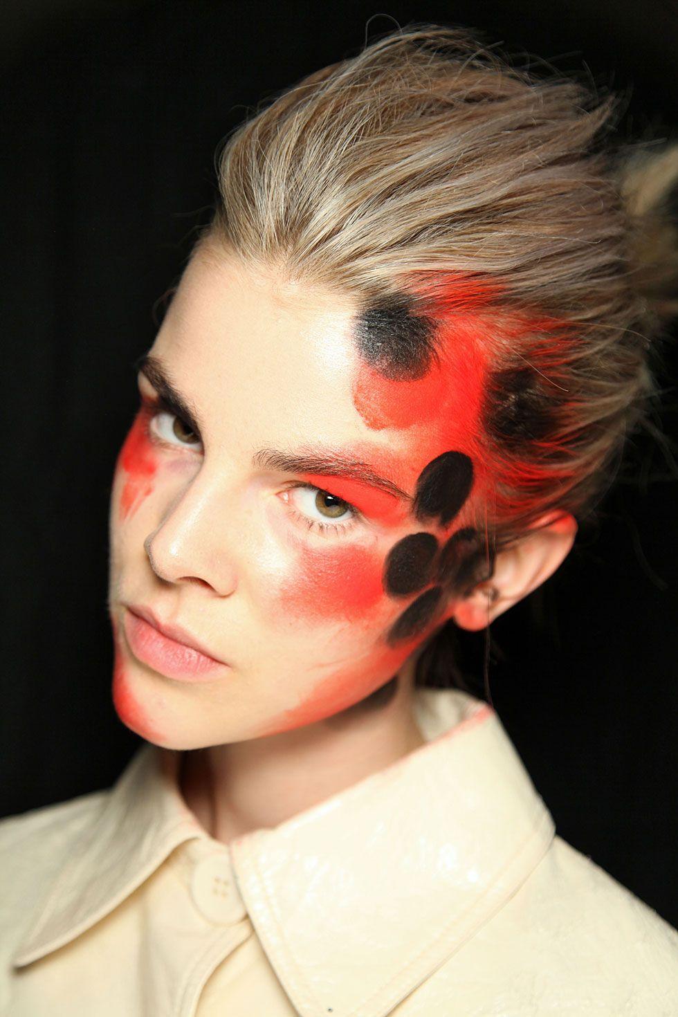 pics Spring 2014 Runway Inspired Halloween Makeup Ideas