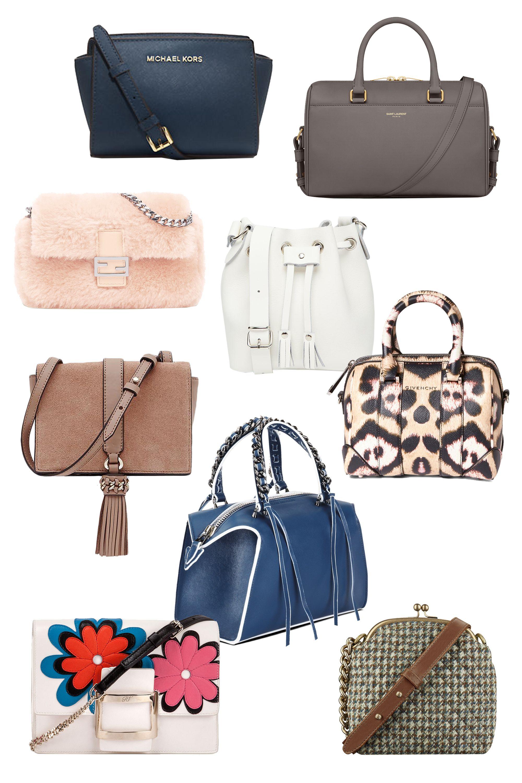 "<p>MICHAEL Michael Kors Selma Leather Mini Messenger Bag, $178; <a href=""http://www.lordandtaylor.com/webapp/wcs/stores/servlet/en/lord-and-taylor/selma-leather-mini-messenger-bag"" target=""_blank""><u>lordandtaylor.com</u></a></p><p>Saint Laurent Classic Baby Duffle Bag, $1,490; <a href=""http://www.ysl.com/us/shop-product/women/handbags-baby-duffle-classic-baby-duffle-bag-in-fog-leather_cod45233849bk.html#dept=bags_women_&itemPage=4"" target=""_blank""><u>ysl.com</u></a></p><p>Fendi Micro Baguette, $1,450; <a href=""http://www.fendi.com/us/micro-baguette-light-pink-sheepskin-micro-bag/p-8M03545AYF065J?search=micro"" target=""_blank""><u>fendi.com</u></a></p><p>Grafea Micro Duffle Bag, $81; <a href=""http://us.asos.com/Grafea-Micro-Duffle-Bag-in-White-Leather/17etkj/?iid=5559601&clr=White12&SearchQuery=micro&pgesize=4&pge=0&totalstyles=4&gridsize=3&gridrow=2&gridcolumn=1&mporgp=L2dyYWZlYS9ncmFmZWEtbWljcm8tZHVmZmxlLWJhZy1pbi13aGl0ZS1sZWF0aGVyL3Byb2Qv"" target=""_blank""><u>asos.com</u></a></p><p>Reiss Jarvis Mini Shoulder Bag, $230; <a href=""https://www.reiss.com/us/p/mini-shoulder-bag-womens-jarvis-in-blush/?category_id=1131"" target=""_blank""><u>reiss.com</u></a></p><p>Givenchy Micro Lucrezia Jaguar Print Leather Satchel, $1,995; <a href=""http://shop.nordstrom.com/s//4187241?origin=keywordsearch-personalizedsort&contextualcategoryid=0&fashionColor=&resultback=1086"" target=""_blank""><u>nordstrom.com</u></a></p><p>Elena Ghisellini Mini Gabria, $960; <a href=""https://www.modaoperandi.com/elena-ghisellini-ss16/mini-gabria-small-satchel-in-scarlett-sensua-leather"">modaoperandi.com</a><a href=""http://www.saks.com""></a></p><p>Roger Vivier Viv Micro Margueritas Leather Shoulder Bag, $1,795; <a href=""http://www.bergdorfgoodman.com/Roger-Vivier-Viv-Micro-Margueritas-Leather-Shoulder-Bag-Multi-micro/prod113650110___/p.prod?icid=&searchType=MAIN&rte=%252Fsearch.jsp%253FN%253D4294967071%2526_requestid%253D67582%2526Ntt%253Dmicro&eItemId=prod113650110&cmCat=search"" target=""_blank""><u>bergdorfgo"