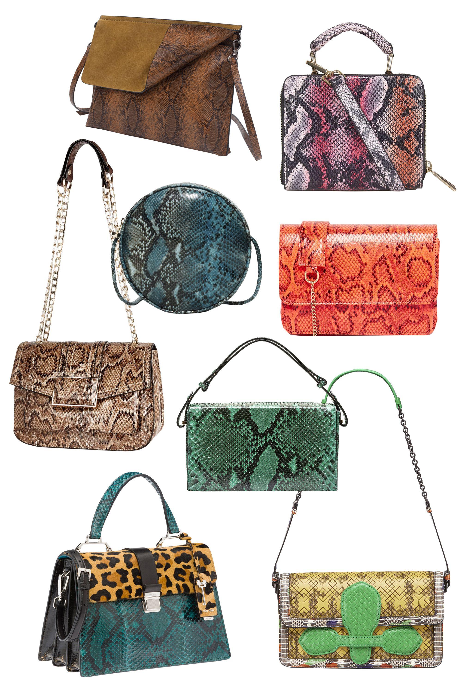 "<p>Zara Combined Clutch Bag, $30; <a href=""http://www.zara.com/us/en/woman/bags/view-all/combined-clutch-bag-c734144p2824141.html"" target=""_blank""><u>zara.com</u></a></p><p>Topshop Faux Snake Box Bag, $58; <a href=""http://us.topshop.com/webapp/wcs/stores/servlet/ProductDisplay?Ntt=snake%2bbag&storeId=13052&productId=20834739&urlRequestType=Base&categoryId=&langId=-1&productIdentifier=product&catalogId=33060"" target=""_blank""><u>topshop.com</u></a></p><p>& Other Stories Circular Leather Shoulder Bag, $175; <a href=""http://www.stories.com/us/Bags/All_bags/Circular_Leather_Shoulder_Bag/590765-101163568.1"" target=""_blank""><u>stories.com</u></a></p><p>Street Level Coral Snake Structured X Body Bag, $60; <a href=""http://us.asos.com/Street-Level/Street-Level-Coral-Snake-Structured-X-Body-Bag/Prod/pgeproduct.aspx?iid=5647634&cid=8730&sh=0&pge=0&pgesize=36&sort=-1&clr=Pi1&totalstyles=964&gridsize=3"" target=""_blank""><u>asos.com</u></a></p><p>River Island Snake Print Shoulder Handbag, $50; <a href=""http://us.riverisland.com/women/bags--purses/shoulder-bags/cream-snake-print-shoulder-handbag-673713"" target=""_blank""><u>riverisland.com</u></a></p><p>Marni Runway Book Bag, $2,140; <a href=""http://www.marni.com/us/clutch_cod45273215ls.html"" target=""_blank""><u>marni.com</u></a></p><p>Miu Miu Top Handle, $3,310; <a href=""http://store.miumiu.com/en/US/dep/handbags/cat/top-handle-bags/product/5BA108_2EZE_F0NP0_V_OOC?from_stl=62814"" target=""_blank""><u>miumiu.com</u></a></p><p>Bottega Veneta Luteos Madras and Exotic Skin Shoulder Bag, <span class=""currency"">£</span> <span class=""value"">2,295;</span> for more information visit: <a href=""http://www.bottegaveneta.com""><u></u></a><u><a href=""http://www.bottegaveneta.com"" target=""_blank"">www.bottegaveneta.com</a></u></p>"