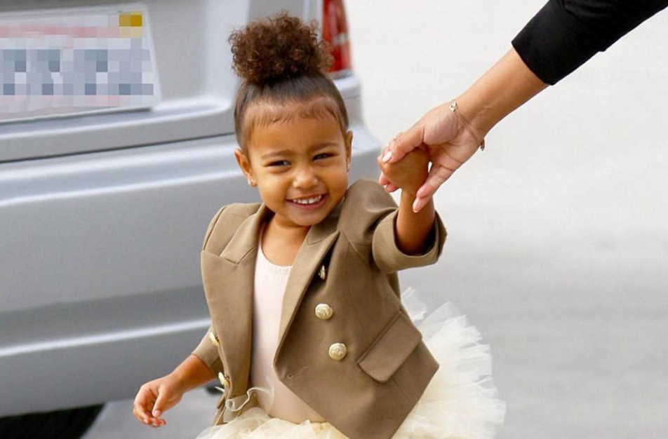 North West as Elsa - North West Halloween Costume
