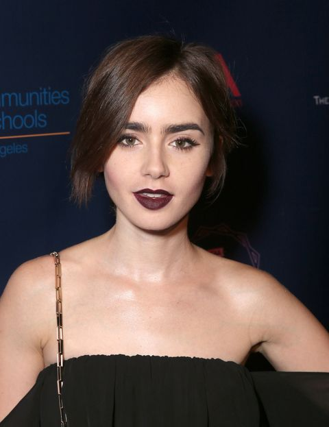 "<p>""It's the 'no-styling' styling mentality,"" says Lily Collins of the instantly influential pixie she debuted in February. Other than a trim every two months, the cut requires little fuss. For ""texture and body,"" Collins uses a cocktail of Leonor Greyl Éclat Naturel styling cream and Kevin.Murphy Rough.Rider clay wax. ""Sometimes the imperfection is what makes it work.""</p>"