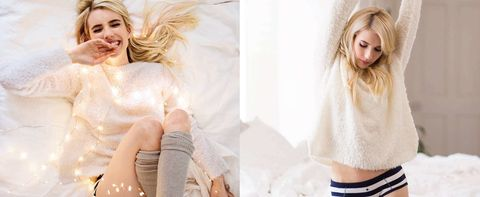 Emma Roberts Passes On Photoshop In Her Latest Fashion Campaign