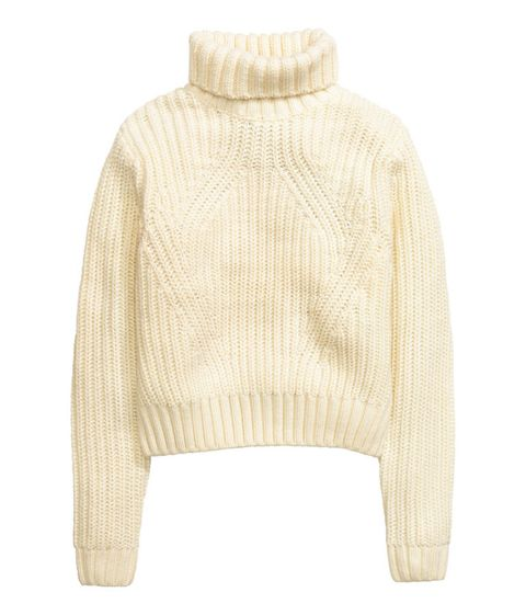 "<p>H&M Rib-Knit Turtleneck Sweater, $40&#x3B; <u><a href=""http://www.hm.com/us/product/32624?article=32624-A"" target=""_blank"">hm.com</a></u></p>"