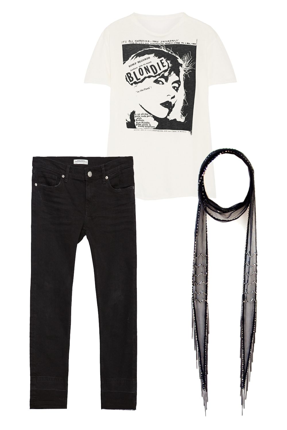 New Ways To Wear Jeans And A T Shirt 10 Pieces That Will Spice Up Tendencies Longshirt Plain Navy