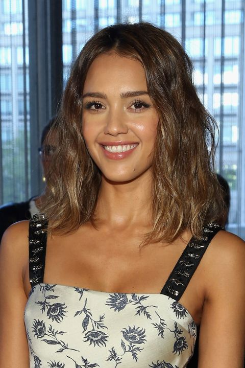 """<p>While actress and Honest Company cofounder Jessica Alba is partial to using her own brand's shampoo and conditioner, she's also fond of whipping up DIY masks with avocado and a blend of coconut and olive oils. """"My haircut makes styling so low-key,"""" she says. """"I use John Masters Organics Leave-In Conditioning Mist at the roots, muss my hair with my fingers, spritz with his Sea Mist Sea Salt Spray with Lavender, and I'm all set.""""</p>"""