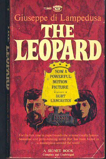 "<p>We love period pieces and this tale of a Sicilian prince that must confront the storming war-General Giuseppe Garibaldi during Italy's Risorgimento is the ultimate aristocratic saga. The book was later made into an excellent film brimming with fabulous costumes by uber-director Lucchino Visconti.</p><p>The Leopard by Giuseppe li Lampedusa, $4; <a href=""http://www.amazon.com/Leopard-Giuseppe-Di-Lampedusa/dp/B000M2A5KG/ref=sr_1_fkmr0_3?s=books&ie=UTF8&qid=1445883762&sr=1-3-fkmr0&keywords=The+Leopard+by+Giuseppe+li+Lampedusa"">amazon.com</a></p>"