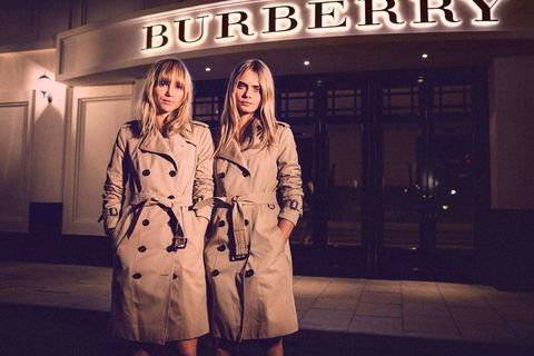66589e79a86f Burberry Consolidating Three Lines Under One Label - Burberry ...