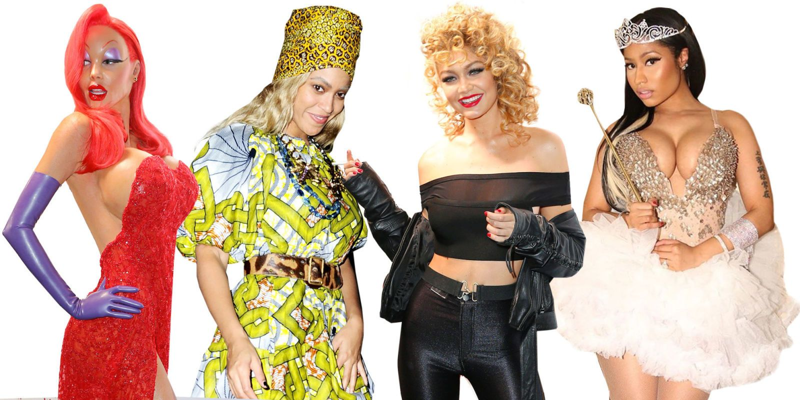 ... pulls out all the stops for itu0027s Halloween. From Beyoncéu0027s Storm to Channing Tatumu0027s Winnie the Pooh (!!) the costumes are creative and elaborate.  sc 1 st  Elle & Celebrity Halloween Costumes 2015 - Celebrity Costume Photos