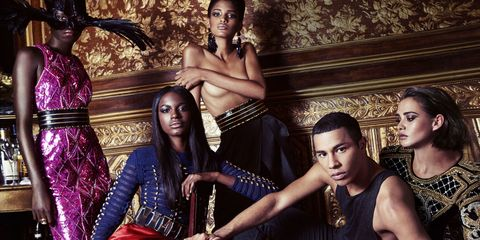 6d61df22 Given his widely publicized obsession with social media, it should come as  no surprise that Balmain prodigy/designer Olivier Rousteing leaked his new  H&M ...