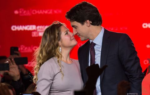 Justin Trudeau and Wife, Sophie Trudeau