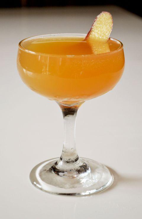 <p><u>Ingredients</u></p><p>4 dashes El Guapo Chicory and Pecan bitters</p><p>4 dashes Dram Apothecary Black bitters</p><p>½ oz Lemon juice</p><p>½ oz Apple shrub</p><p>¾ oz Amaro Montenegro</p><p>1 ½ oz Lairds bonded Apple Brandy</p><p><u>Instructions</u></p><p>Mix all ingredients into a glass and garnish with a dried apple slice. </p><p><em>Courtesy of Randolph Broome</em></p>