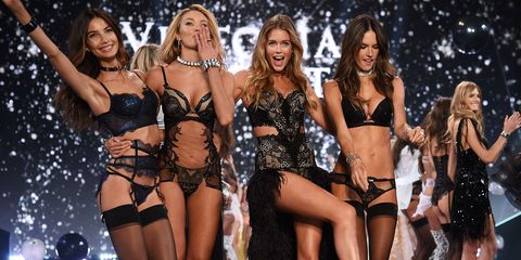 Here's a Look at How Victoria's Secret Casts Its Fashion Show