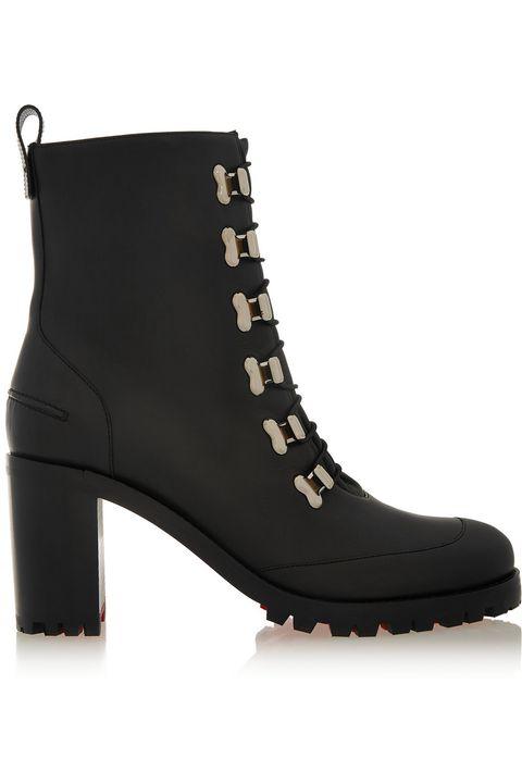 "<p>Christian Louboutin Country Croche 70 Leather Boots, $1,295; <u><a href=""http://www.net-a-porter.com/us/en/product/606916/christian_louboutin/country-croche-70-leather-boots"" target=""_blank"">net-a-porter.com</a></u></p>"