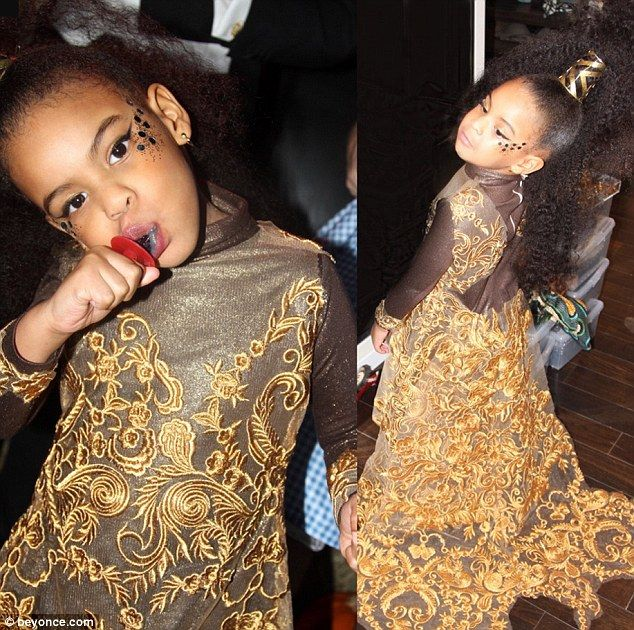 Blue Ivy Halloween Costume 2015-Blue Ivy and North West Are Disney ...