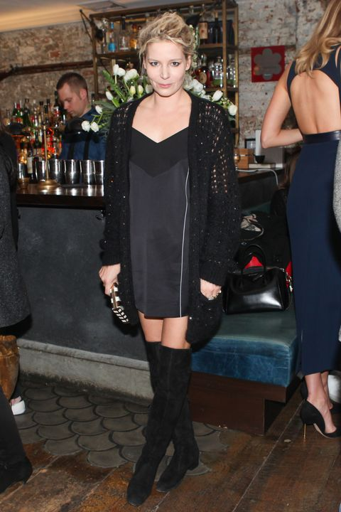 <p>Mugler Dinner at Musket Room in NY to Celebrate: Handbag Collection Launch on November 9, 2015.</p>