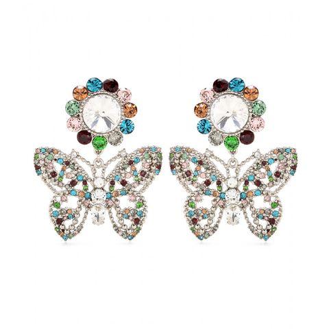 "<p>Miu Miu Embellished Clip-On Earrings, $500; <u><a href=""http://www.mytheresa.com/en-us/embellished-clip-on-earrings-457965.html?catref=category"" target=""_blank"">mytheresa.com</a></u></p>"