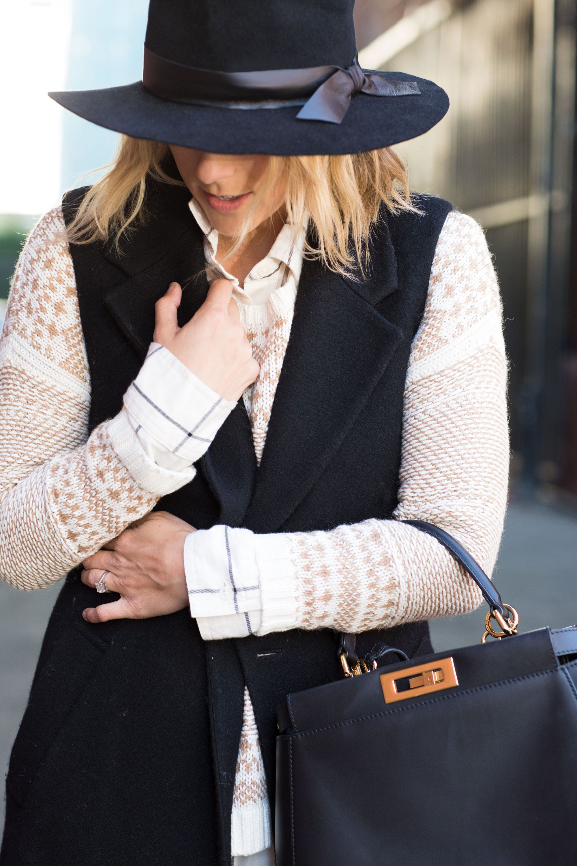 """<p>Mix patterns! Fair isle and plaid are a fresh, wearable pairing. """"Just make sure both prints are in the neutral color family,"""" Duprie says.</p><p><em>Old Navy Textured-Graphic Crew-Neck Sweater, $39.94, <a href=""""http://oldnavy.gap.com/browse/product.do?cid=60790&tid=onsm004538&vid=1&pid=141245022"""" target=""""_blank"""">oldnavy.com</a>; Old Navy Boyfriend Flannel Shirt in Windowpane, $29.94, <a href=""""http://oldnavy.gap.com/browse/product.do?cid=1027152&tid=onsm004538&vid=1&pid=715241002"""" target=""""_blank"""">oldnavy.com</a></em></p>"""