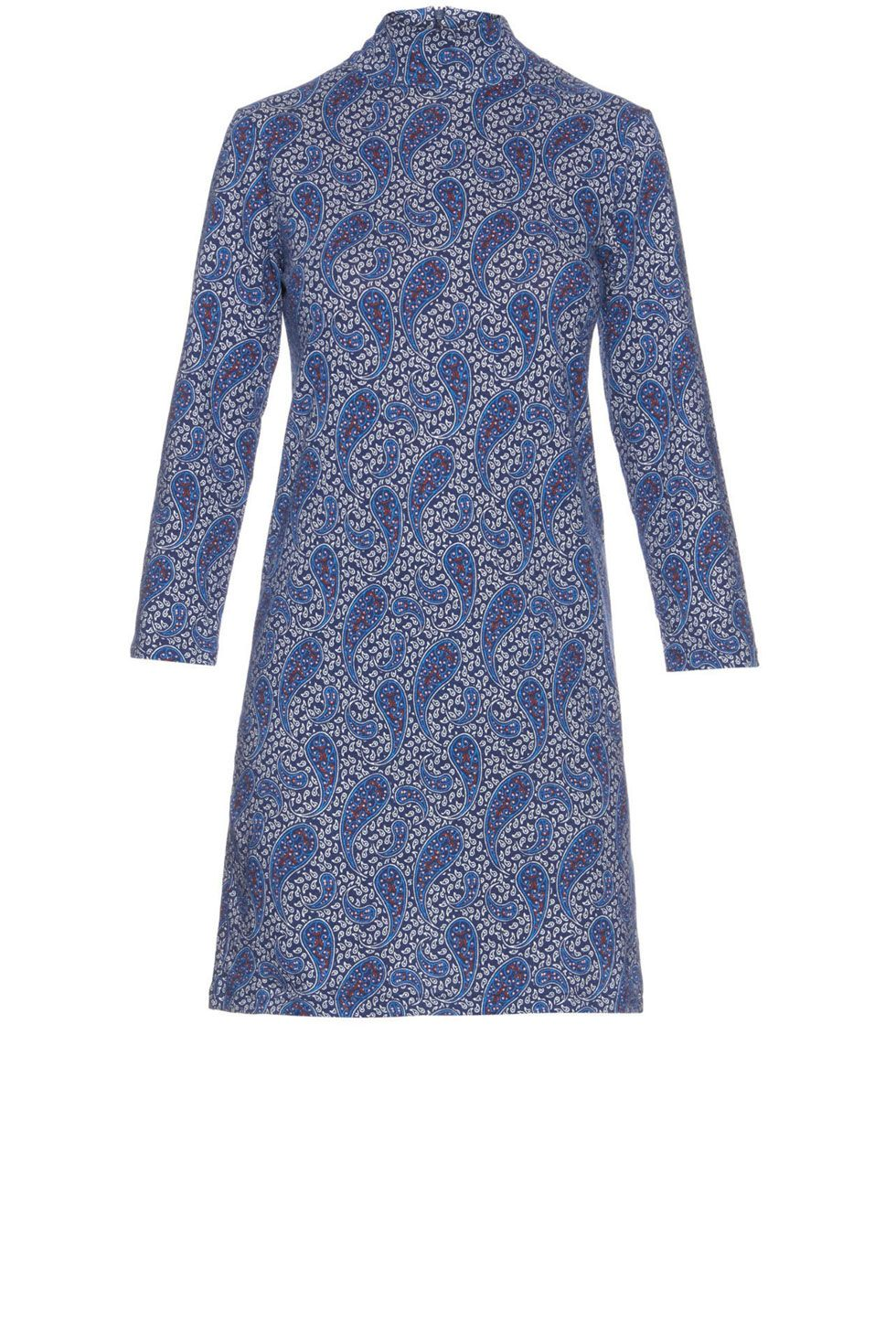 "<p>A.P.C. Lydie Paisley-Print Dress, $172; <a href=""http://rstyle.me/n/beff6nbc6jf"">matchesfashion.com</a></p>"