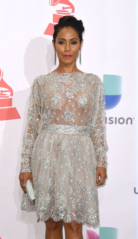 Jada Pinkett Smith Naked Dress
