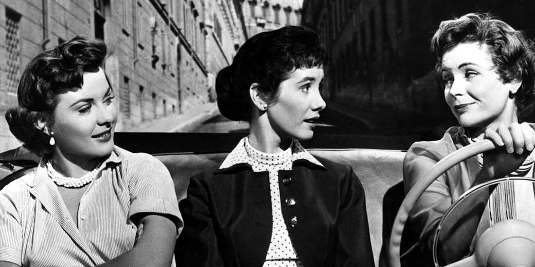 <p>Best Dressed: Jean Peters and Dorothy McGuire as two secretaries who travel to Rome looking for love—in the most quintessential (and chic) 1950s garb.</p>