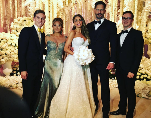 Sofia Vergara Wedding.Sofia Vergara And Joe Manganiello Provide Ivs To Hungover Guests